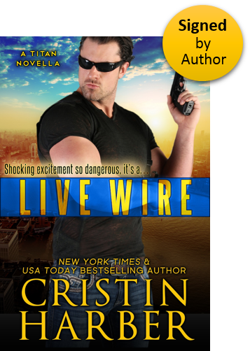 Live Wire (Titan 10) Paperback Signed by Author