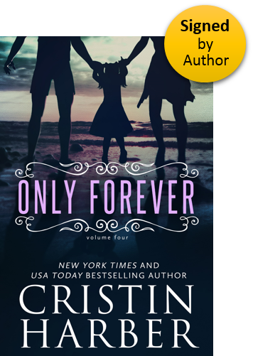 Only Forever (Only Series Book 4) Paperback Signed by Author