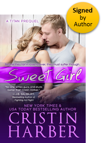 Sweet Girl (Titan 1.5) Paperback Signed by Author