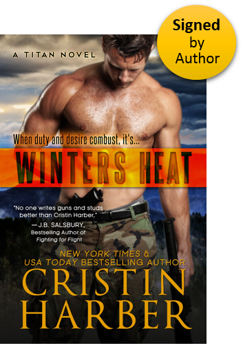 Winters Heat (Titan 1) Paperback Signed by Author