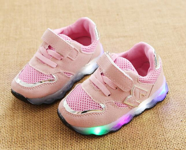 be464d1cdc753 ... girls boys sneakers high quality LED lighted children shoes Lovely baby kids  glowing shoes. Rs. 902.00. Rs. 1