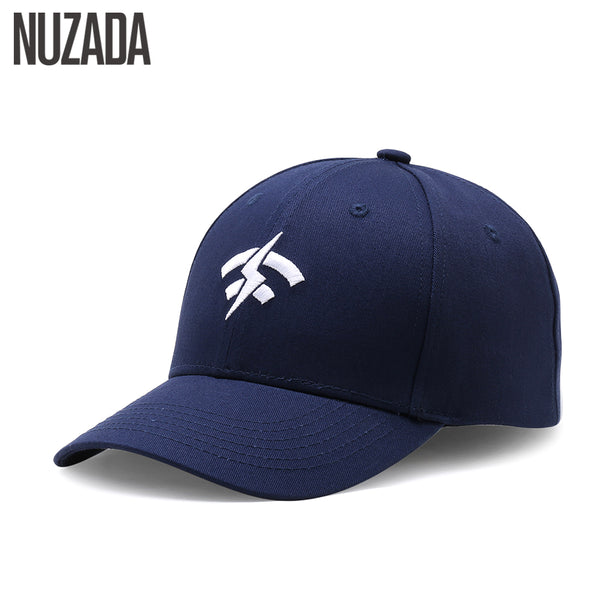 34803c3fe15 Brand NUZADA Embroidery Baseball Cap For Men Women Double Layer Bone 6  Colors Spring Summer Caps ...