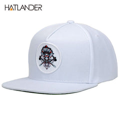 de0acb70ed35e  HATLANDER Original grey cool hip hop cap men women hats vintage embroidery  character baseball
