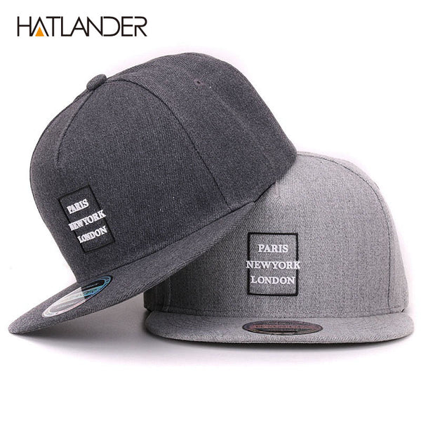 713717c5103  HATLANDER  branded cotton vintage hip hop baseball cap for women 3D letter  strap back ...