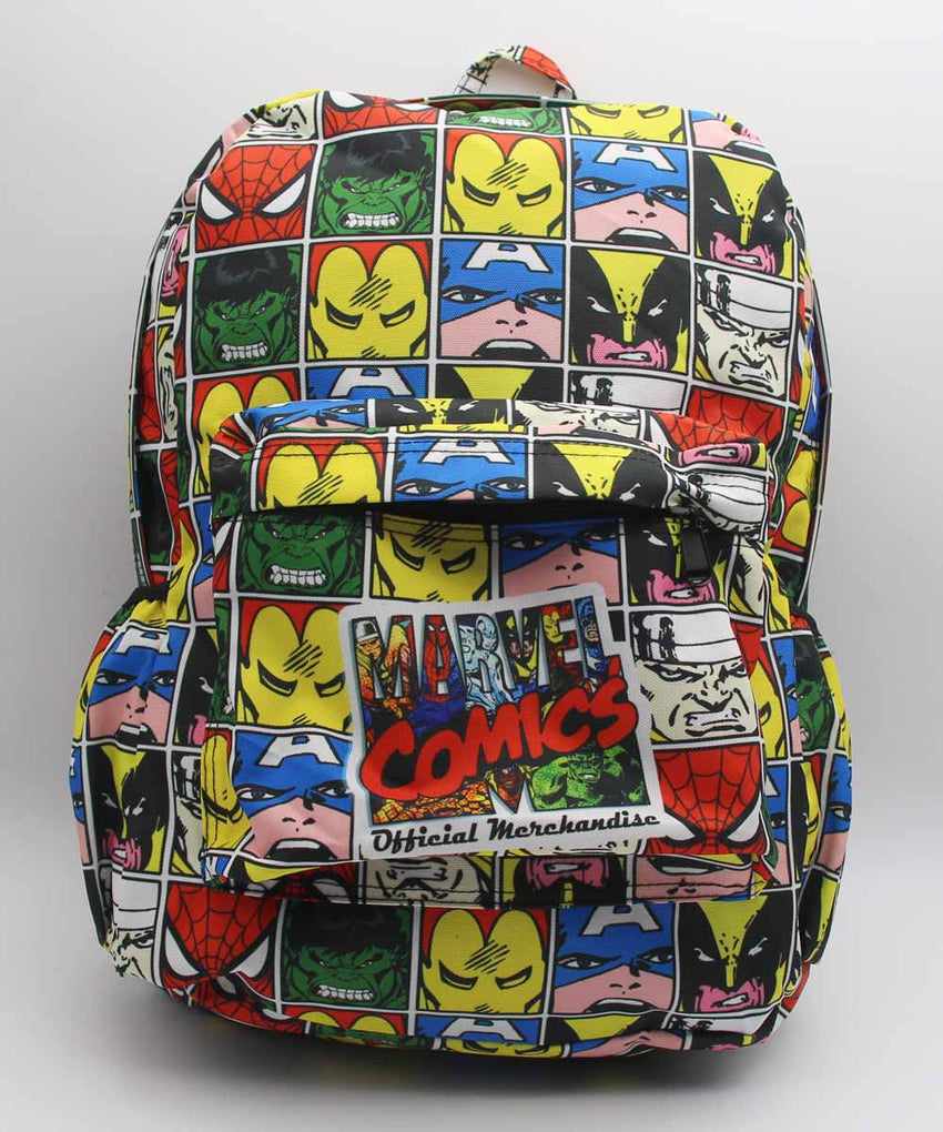 88fa5d191588 Marvel Comics DC Comics Iron Man Deadpool BATMAN joker Backpack Shoulder  School Bag Unisex Cartoon School