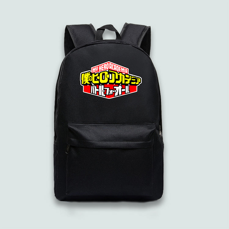 ea6ca3f03894 Marvel DC Wonder Woman Black Panther Anime Rick and Morty PS4 Canvas  Backpack School Bag Laptop