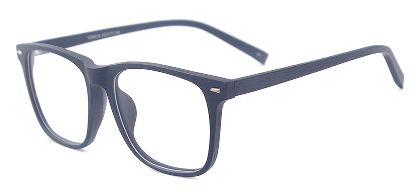 b854cf4436 Men Big Acetate Wooden Texture Prescription Glasses Square Bamboo Spectacles  For Optical Lenses