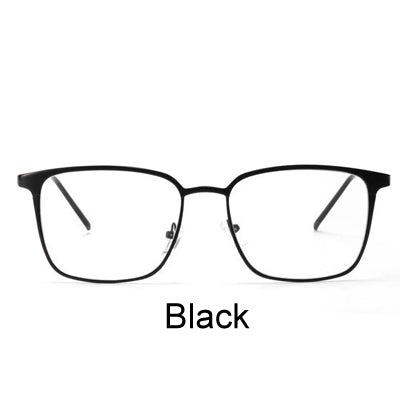 92fa190cf0 Ralferty 2017 Square Glasses Frame Women Men Metal Eyeglasses Optical  Frames Eyewear Clear Lens Gold Silver