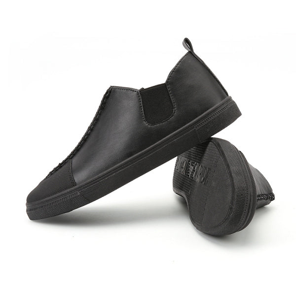 c6068e7f066b6 Slip-on Men Leather Casual Shoes EU Size 39-44 New Arrival Man Leisure