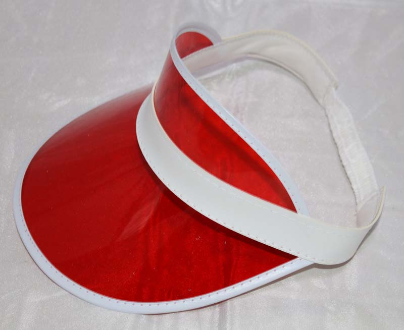 Summer Holiday Sun Hat Sun Visor Sunvisor Party Casual Unisex Hat Spring  Autumn Red Green Clear 0464c05aa3c1
