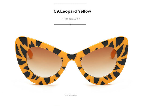 b7f0682359 ... UVLAIK Cat Eye NIRVANA Kurt Cobain Sunglasses Women Butterfly Frame Glasses  Vintage Sun Glasses Women s UV400