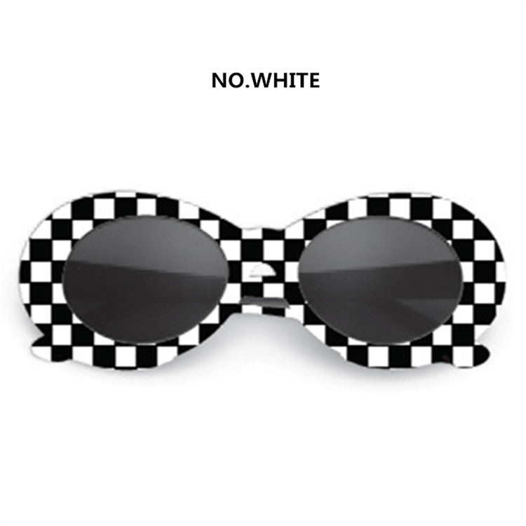 f1404b60f7 UVLAIK NIRVANA Kurt Cobain Glasses Round Clout Goggles Sunglasses For Women Men  Mirrored Glasses Retro Female