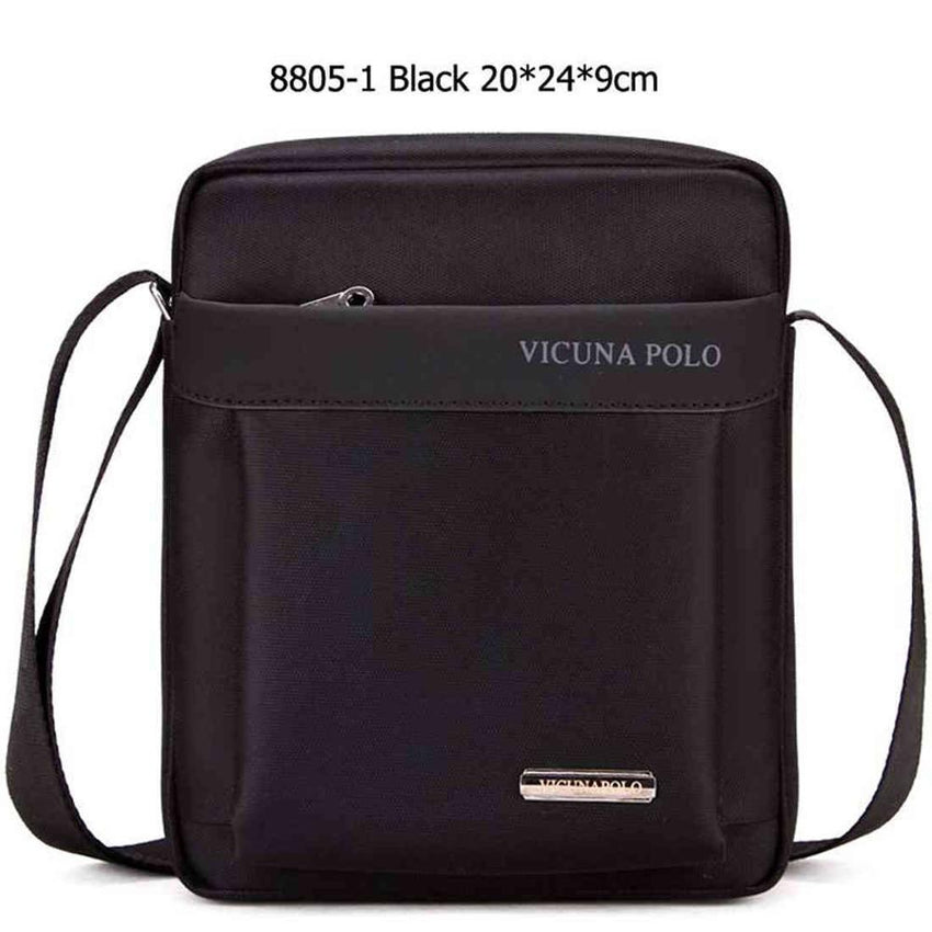 9b14e88f8835 VICUNA POLO Light Weight Oxford Mens Messenger Bags For iPad Durable  Fashion Men Shoulder Bag Small