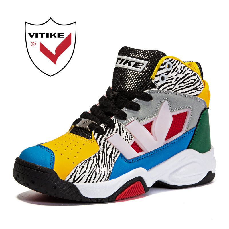 93abd9a9c4a66b WETIKE Big Kids Basketball Shoes Boys Girls Sneakers Shockproof Running  Walking Shoes Outdoor Indoor Basketball