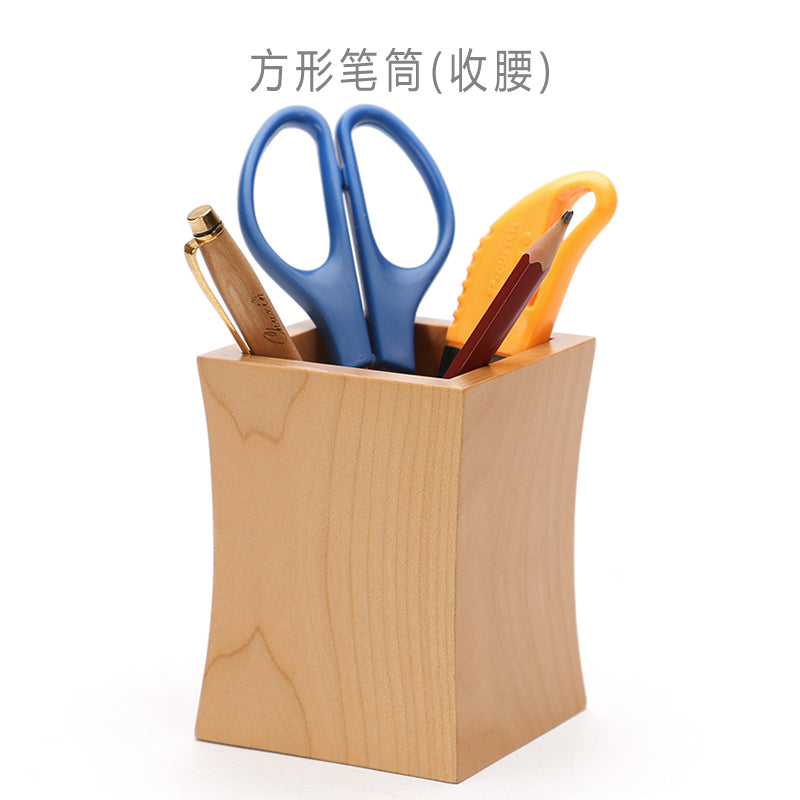 Office & School Supplies Child Kids Cartoon Multifunction Wood Pencil Pen Holders Stationery Container Office Supplies Office Organize Desk Accessories Consumers First Desk Accessories & Organizer