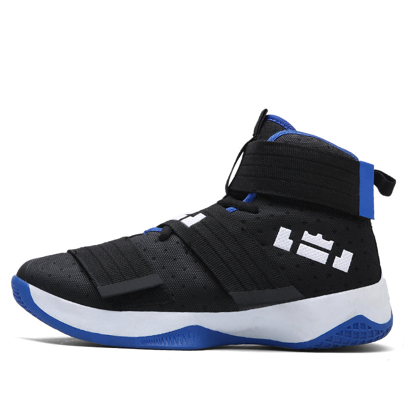 fd3a83254cb Ziitop Basketball Shoes Men Sneakers Lebrons High top Lace up Ankle Sport  Shoes Air cushion Shockproof