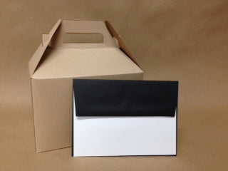 A7 Black Licorice Envelopes