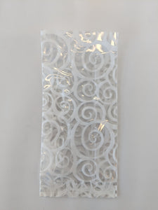 C1 Cello bag- Euro Swirl White