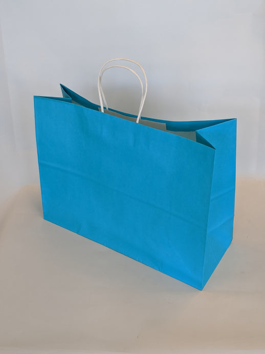 Turquoise Gift Bag Vogue
