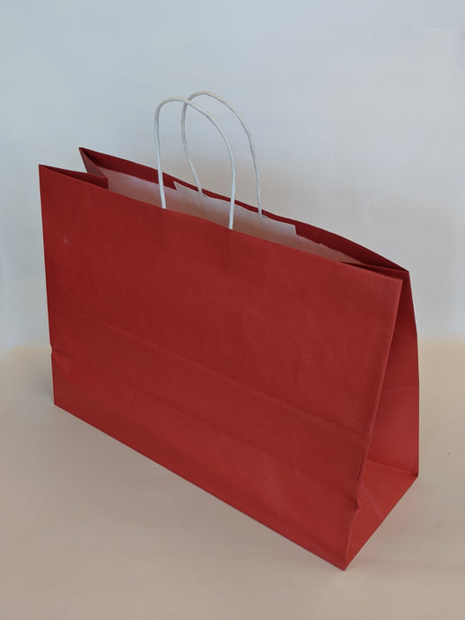 Red Gift Bag Vogue