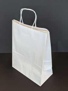 White Gift Bag DEB