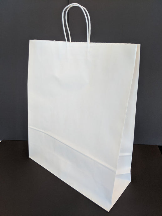 White Large Gift Bag