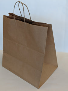 Kraft Wide Shop Gift Bag