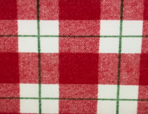 Red White Green Buffalo Plaid