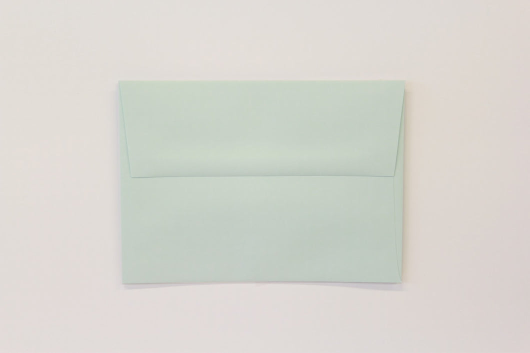 A7 Sno Cone Envelopes