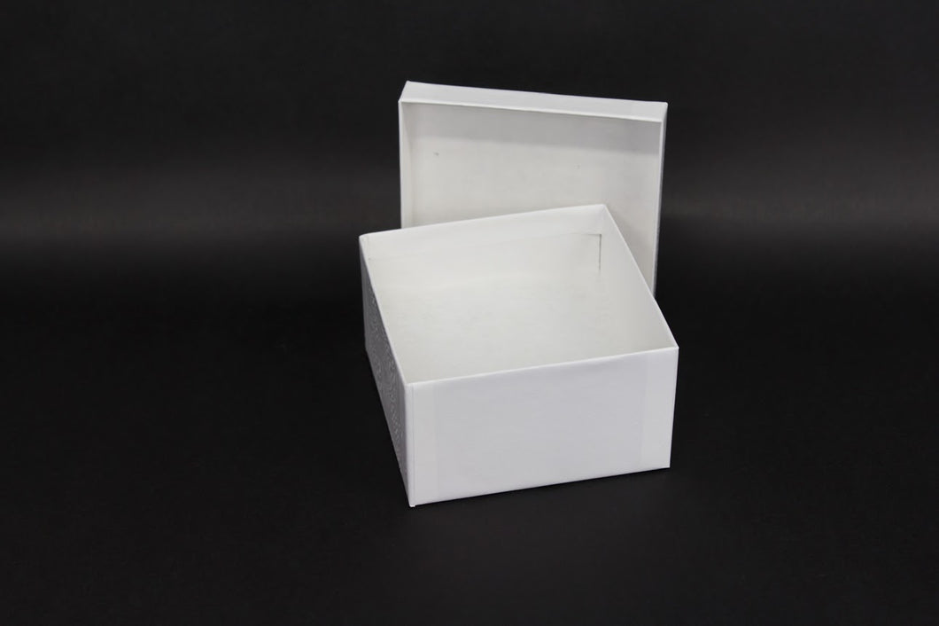 White Jewelry Box #34