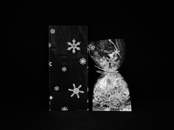 C2 Snowflakes Cello Bags