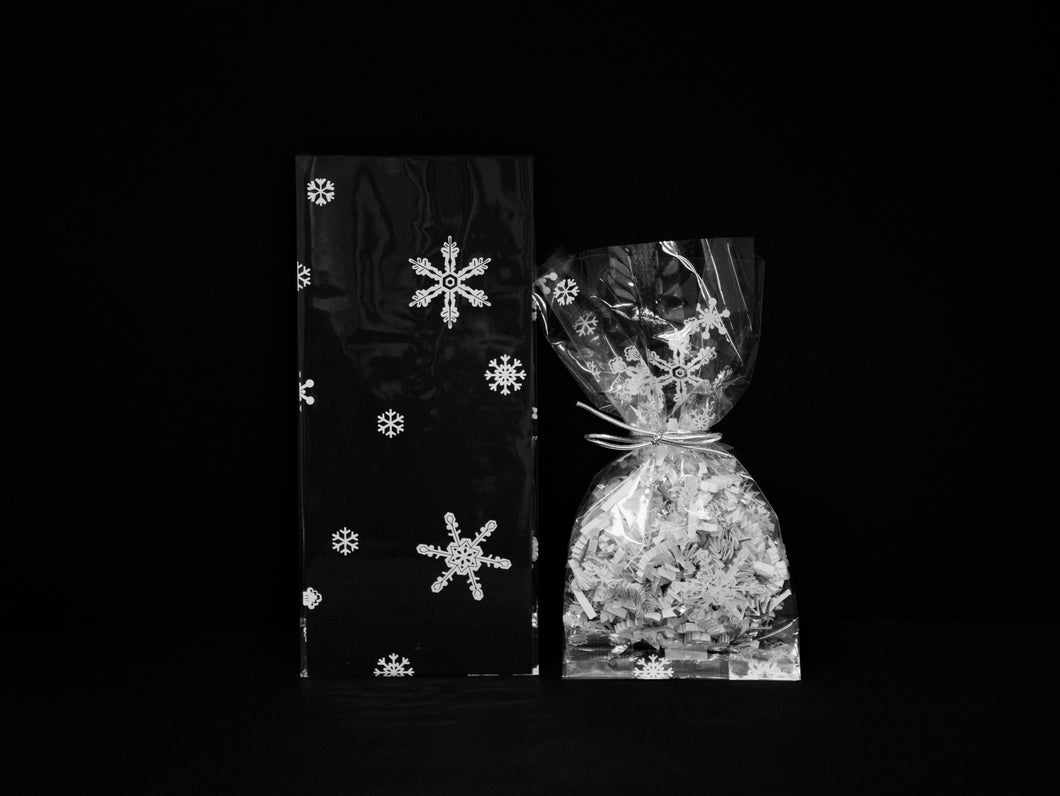 C4 Snowflakes Cello Bags