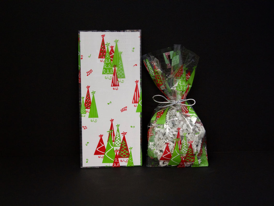 C2 Rockin Christmas Tree Cello Bags
