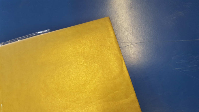 Gold Metallic Tissue Paper