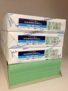 Hammermill Fore Green 20#