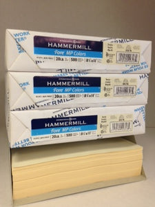 Hammermill Fore Ivory 20#