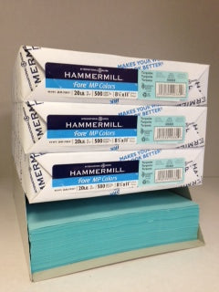 Hammermill Fore Turquoise 20#