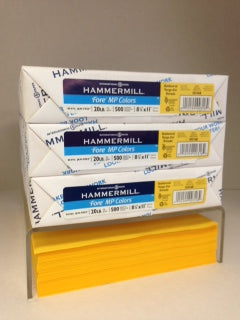 Hammermill Fore Goldenrod 20#