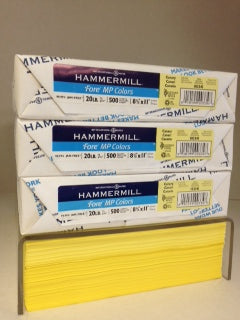 Hammermill Fore Canary 20#
