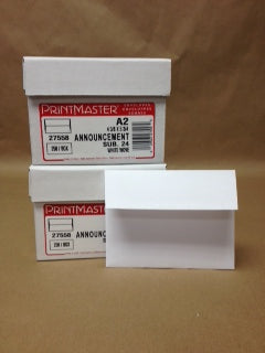Printmaster A2 Envelopes