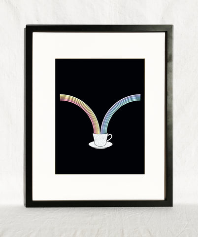 DOUBLE RAINBOWS - PRINT