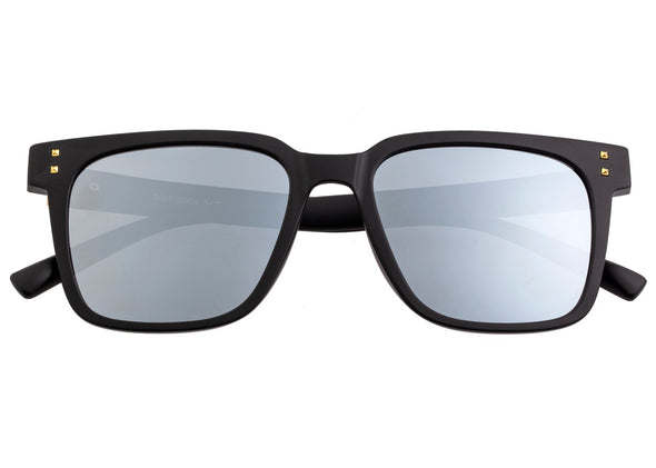 Sixty One Carpi Polarized Sunglasses - Black/Silver