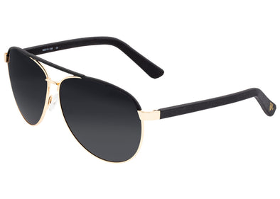 Sixty One Wreck Polarized Sunglasses - Gold/Black