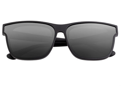 Sixty One Delos Polarized Sunglasses - Black/Black