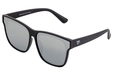 Sixty One Delos Polarized Sunglasses - Black/Silver