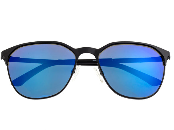 Sixty One Corindi Polarized Sunglasses - Black/Purple-Blue