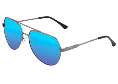 Sixty One Costa Polarized Sunglasses - Gunmetal/Blue