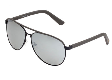 Sixty One Wreck Polarized Sunglasses - Black/Silver