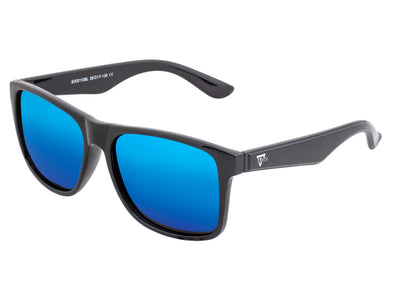 Sixty One Solaro Polarized Sunglasses - Black/Blue