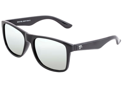 Sixty One Solaro Polarized Sunglasses - Black/Silver